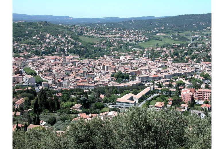 Manosque (Alpes-de-Haute-Provence) - Point de vue sur la ville